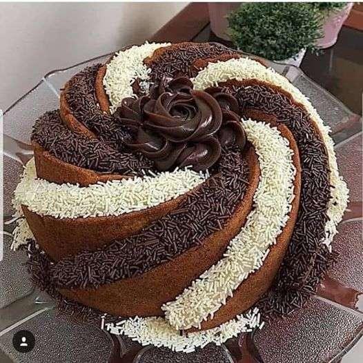 fan ciocolata - ciocolată - idee tort (7×7)