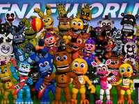 fnaf world - fnaf world is so cool