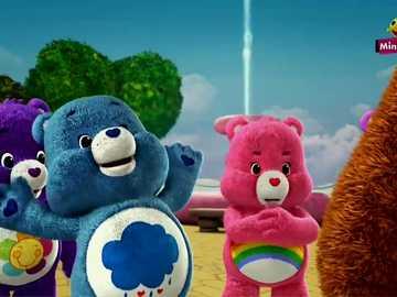 """Care Bears Willkommen im Land der Pflege - """"Du kannst den Pfeil nehmen, der dich getroffen hat, aber die Worte werden für immer bei dir b"""