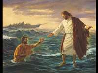 Miracle of jesus - Jesus walks on the sea
