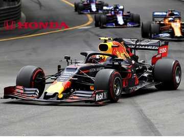 F1 Redbull Honda - Redbull Honda F1 puzzle