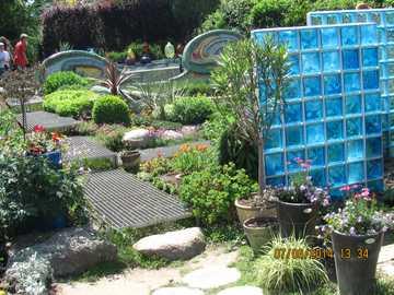 Hortulus gardens - Spanish part in the garden