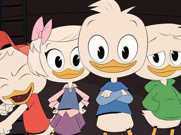 "Duck Tales - ""Life is a test. Just a test. If it were otherwise, someone would have told us what to do and w"