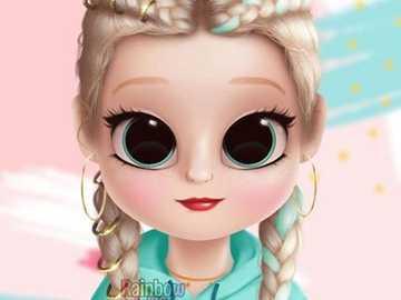 bonecas com tranca francesa - Dolify transas e roupa verde