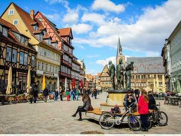 Quedlinburg - Miasteczko, ludzie, zabytkowe domy