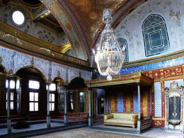 Pałac Topkapı - Stambuł - Pałac Topkapı - Stambuł