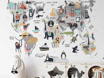 Piękna tapeta na ścianie do pokoju dziecka - Piękna tapeta na ścianie do pokoju dziecka
