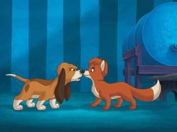 """Η αλεπού και ο σκύλος 2 - """"Ευτυχισμένος είναι αυτός που σε αγαπά, τον φίλο σου"""