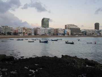 wieczorna atmosfera - Wieczorny nastrój Grand Canaria