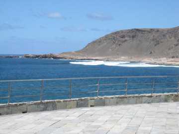 Widok na jezioro - Las Palmas Grand Canaria widok na jezioro