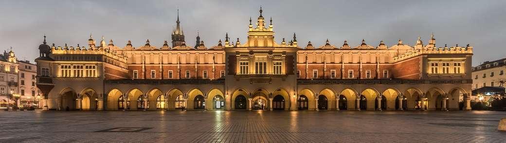 corredor - Palácio do Pano de Cracóvia (11×3)