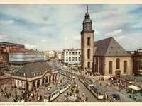 Frankfurt am Main Hauptwache w latach 50