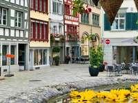 Sankt Gallen downtown Switzerland - Sankt Gallen downtown Switzerland