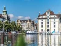 Rorschach on Lake Constance