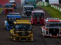 Course de camions - Course de camions brésiliens, sur le circuit de Cascavel.