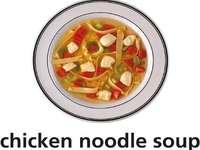 c es para sopa de pollo con fideos
