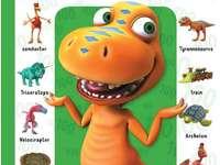 Trem de dinossauros - Jogos de puzzle Dinosaur Train