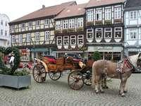 Paseo en carruaje por el centro de la ciudad de Celler