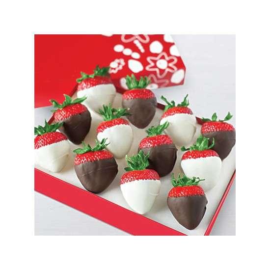 PĂRINTE ÎN CHOCOLATE - Căpșuni în ciocolată Oreo (4×4)