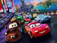COCHES DISNEY - Carreras de coches de rompecabezas de coches