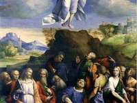 ASCENSION - Ascension of the Lord - the ascension of the risen Jesus Christ to heaven. As a Christian holiday ce