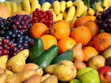 FRUTTA TROPICALE - Puzzle di frutta tropicale