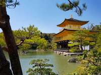 Pabellón Dorado en Kioto - Pabellón Dorado en Kioto
