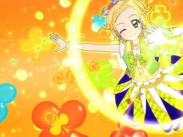 Pop Flash - 基本 的 Pop 型 魅力 秀。 服裝 : Yellow Parade Coord。
