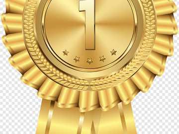 Médaille d'or pour la deuxième année - Puzzle de la médaille d'or pour la deuxième année