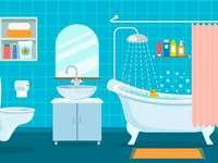salle de bain pour 3e année