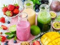 algunas bebidas - ayuda a memorizar algunos de los productos beneficioso para la salud mientras pones en practica habi