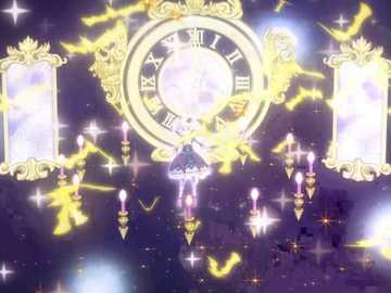 Premium Clock Circus (Premium) - LoLi GoThiC 品牌 的 高級 魅力 秀。 偶像 的 姿勢 、 背景 顏色 與 裝飾 , 因 O