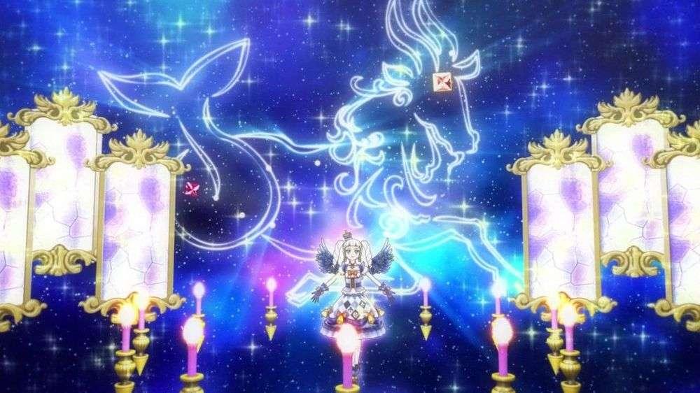 Premium Clock Circus (Sternbild) - LoLi GoThiC Night 的 星座 魅力 秀。 偶像 的 姿勢 、 背景 顏色 與 裝飾 Berufung (15×8)