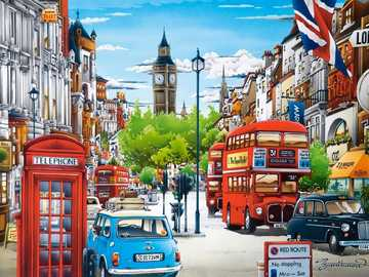 Painted London. - Art. Painted London.