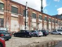old shipyard in Gdańsk