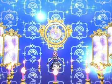 Premium Clock Circus (Dream) - LoLi GoThiC 品牌 的 高級 魅力 秀。 偶像 的 姿勢 、 背景 顏色 與 裝飾 , 因 O