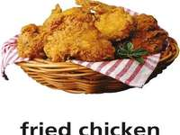 f es para pollo frito