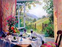 Painting. - Art. Landscape painting.