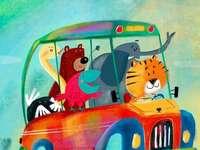 Кола и животни