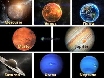 Solar system - Planets and satellites