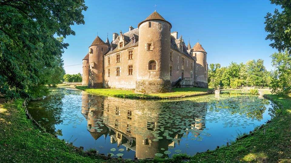 Замъкът на Ainay-le-Vieil - Chateau d'Ainay-le-Vieil, Бери, Франция (10×6)