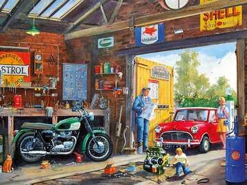 Repair shop. - Building. Repair shop.