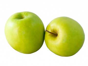green apple - green sea, tastes and beautiful