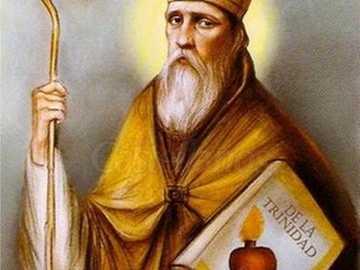 San Agustin - Imagine cu San Agustín Obispo