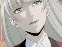 kakegurui personaje hermoso anime