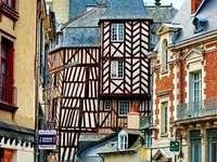 Κέντρο πόλεων του Ρεν στη Γαλλία