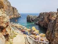 Plakias, Kréta déli partján
