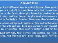 Древни деца - Момичета и момчета са живели различни животи в древна �