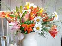 Flowers in a vase - ...... m .............................