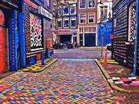 calle en amsterdam - m ..........................